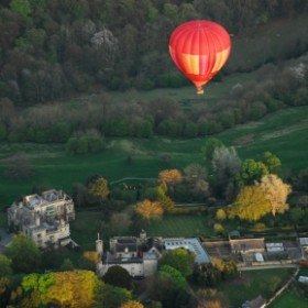 Balloons, Bollinger and a beautiful village