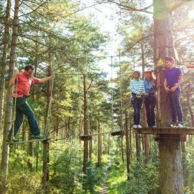 Trout-tickling, axe-throwing, rope-climbing