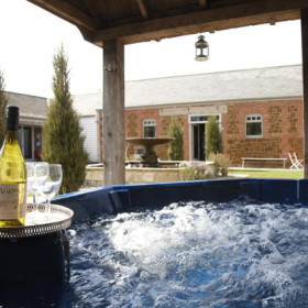 Gardens and Hot Tub