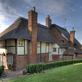 The thatched house luxury country houses for Manor farm house plan