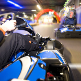 Karting, diving and zipping