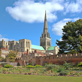 Gardens and Goodwood, castles and cathedrals