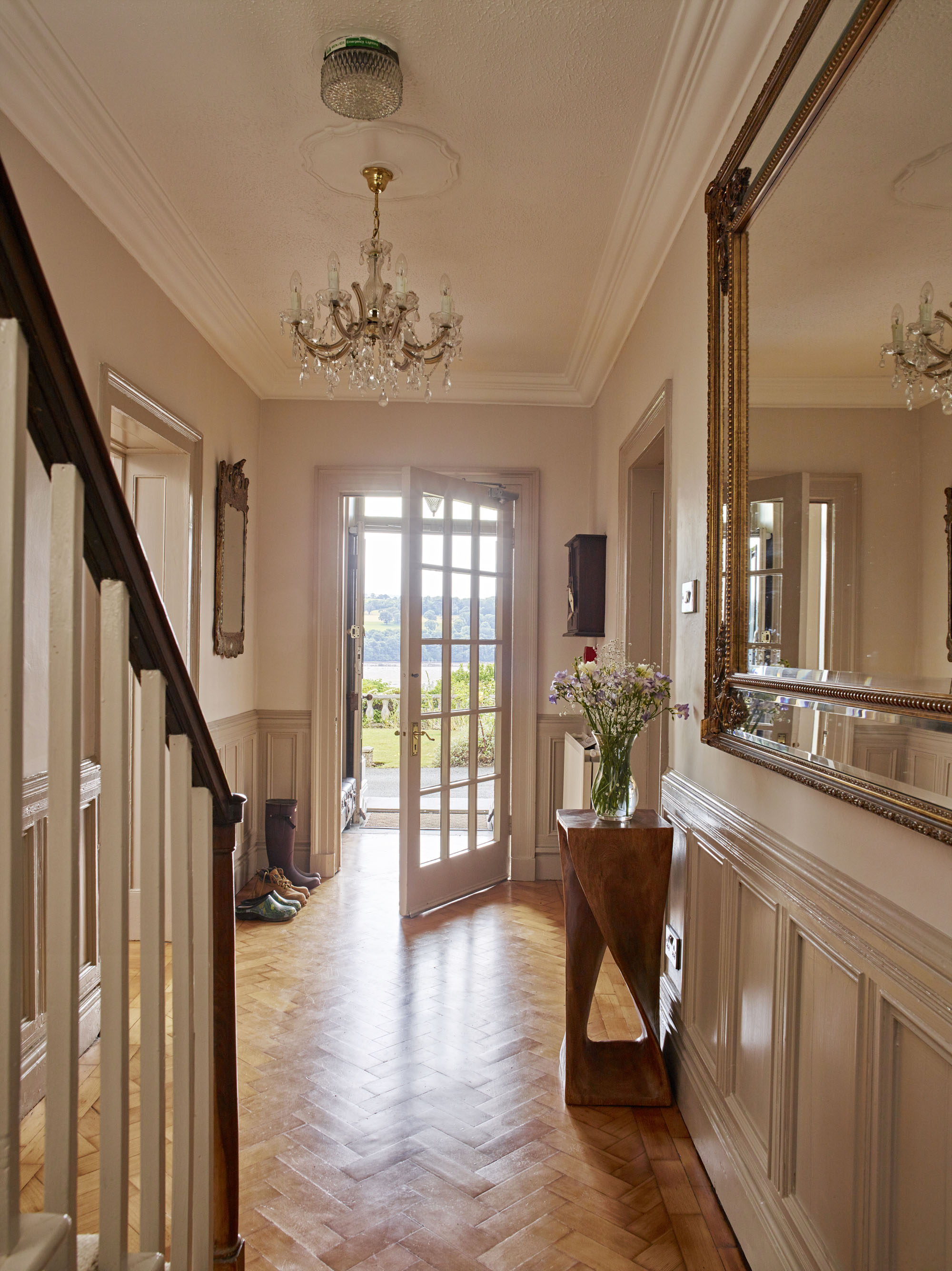 The Old Country House Hallway