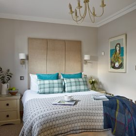 Bedrooms, living, cooking & dining