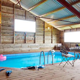 Pool, hot tub and grounds