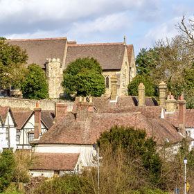 Holiday cottages on the Kent coast
