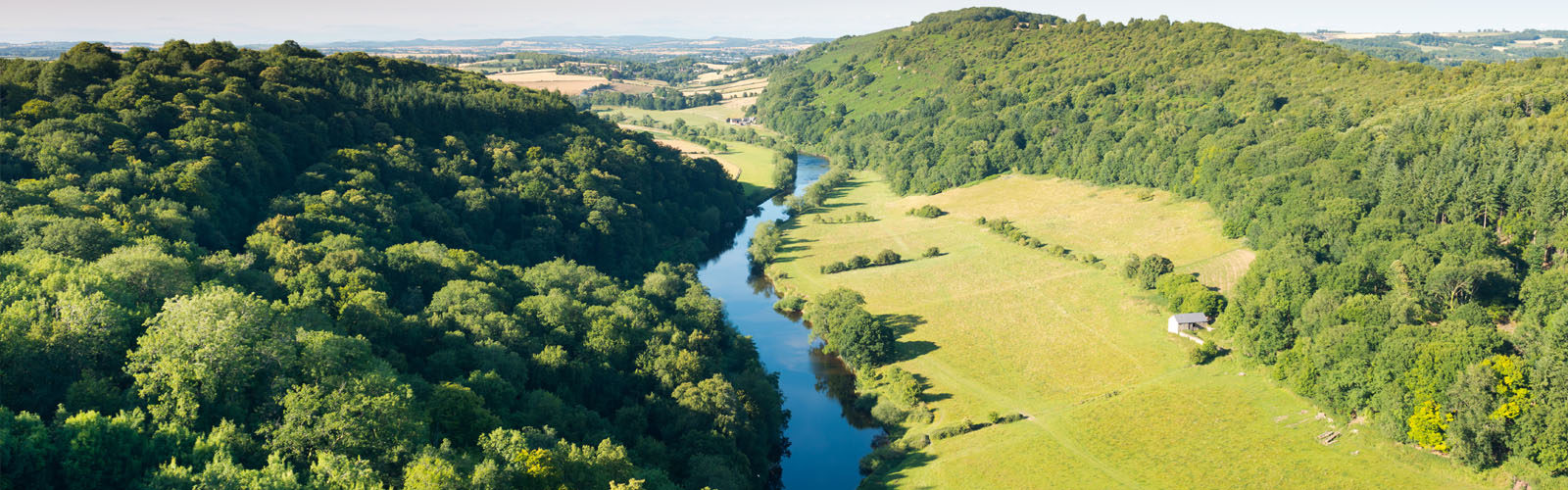 River Wye , Herefordshire.