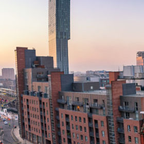Large group accommodation in Manchester
