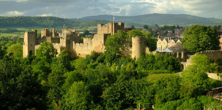 Ludlow Castle, Shropshire.