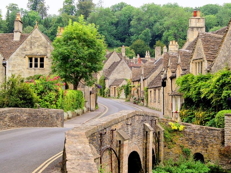 Cotswolds village.