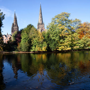 Cathedral situated in the heart of Staffordshire.