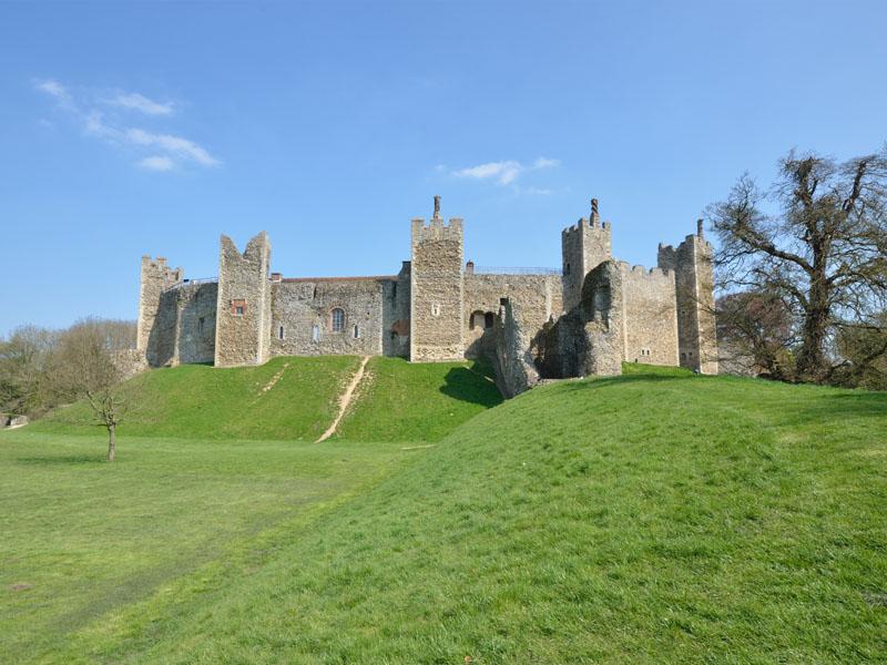 Framlingam Castle.