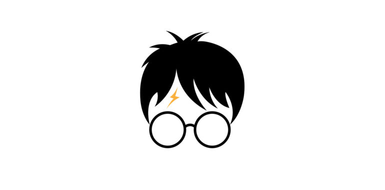 Wizard boy with glasses.