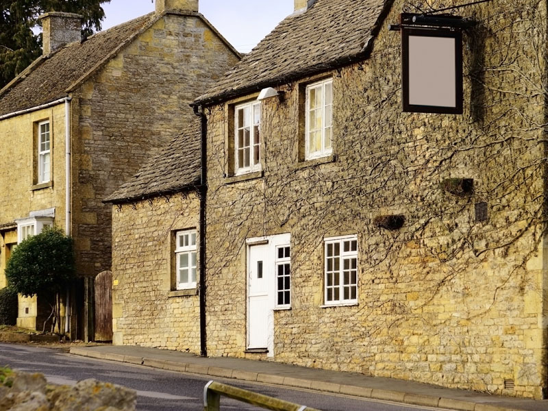 Old house in chipping norton, Oxfordshire