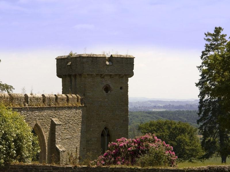 Croft Castle and Parkland view.